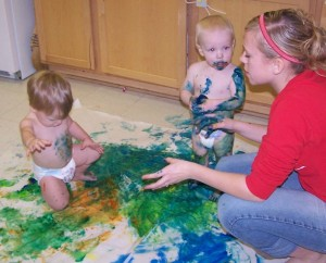 Baby Bodypainting